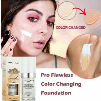 Magic Flawless Color Changing Foundation TLM Makeup Change To Your Skin Tone NN
