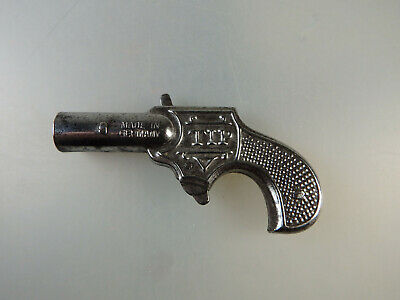 53673 Mini Revolver TOP Blech Made in Germany 92 mm um 1930