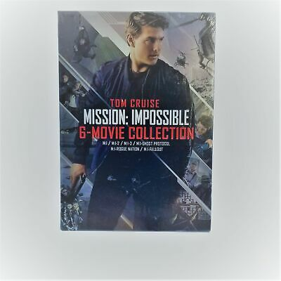 Mission Impossible 6-Movie Collection (Dvd) New - Sealed