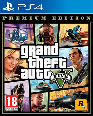 GTA V (Premium Edition)   PS4  EU