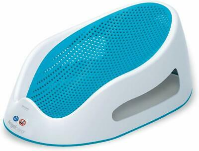 Angelcare Soft Touch Bath Support - Aqua Blue Baby bath Hygienic Mouldproof