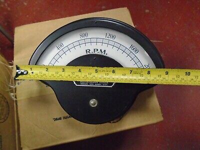 Weston Model 273 rpm Meter new steampunk