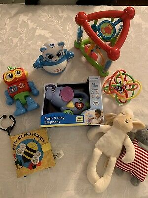 Bundle Baby Toys Vtech Activity Triangle Elephant Robot Sensory