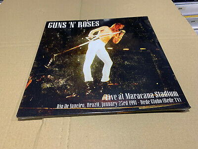 Guns Roses 2 Lp Live At Maracana Stadium 23/01/1991 Sealed