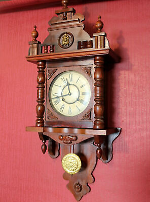 Old Wall Clock Chime Clock Regulator Clock Freischwinger 31 Day
