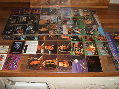 Skybox 1995 set 90 Star Trek Voyager Season 1 Series 2 + chase setsTrading Cards