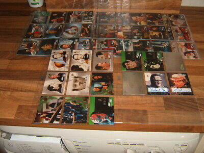 Skybox 1999 set Star Trek TNG Episode Collection  Season 7 + chase Trading Cards