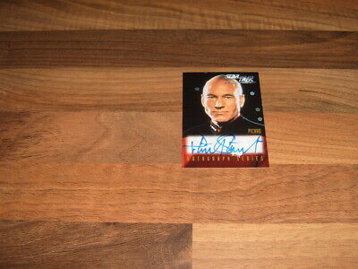 Skybox 1999  Star Trek TNG Episode Collection  Season 7 Autograph Card A1