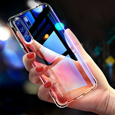 For Huawei Mate 30 Pro P30 P20 Transparent Airbag Silicone Shockproof Case Cover
