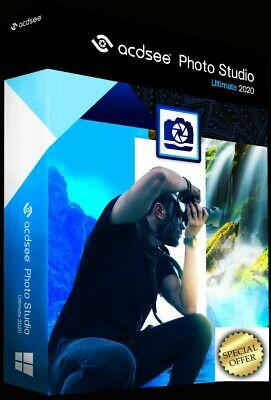 ACDSee Photo Studio Ultimate 2020 ✅ Full Lifetime Version ✅ official Download ✅