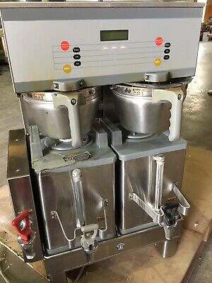 BUNN Commercial Dual Stainless Steel Coffee Brewer Machine