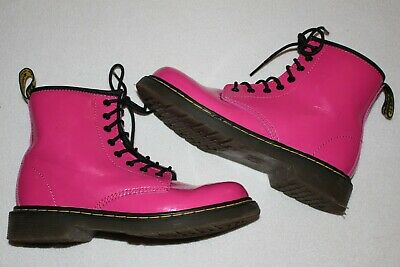 Shoes: Gorgeous pink boots by Dr Martens, older girls UK 2