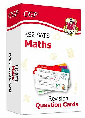 New KS2 Maths SATS Revision Question Cards (For The 2020 Tests) (CGP