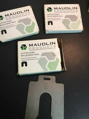 Maudlin Products Slotted Shims Replacement Pack  MSD125 5 pack
