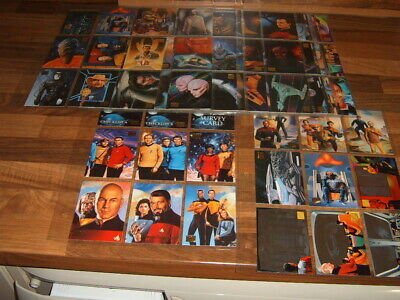 Skybox Master Series 1994 set 100 Star Trek Edition + chase setsTrading Cards