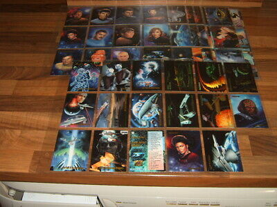 Skybox Master Series 1993 set 90 Star Trek  + chase sets Trading Cards
