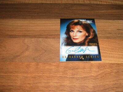 Skybox 1999  Star Trek TNG Episode Collection  Season 7 Autograph Card A4