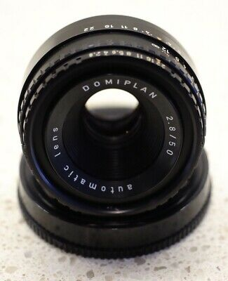 Meyer Optik Gorlitz 50mm f2.8 Domiplan Manual Prime Lens Pentax M42 Screw Mount.