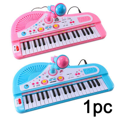 Childrens Musical Piano Toy Kids Electronic Keyboard Keys Microphone STOCK