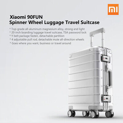 Xiaomi 90FUN Spinner Wheel Luggage Travel Suitcase 20-inch Carry-on Trolley Case