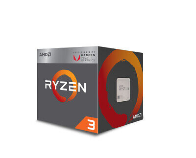 Amd - CPU AMD AM4 Ryzen 3 BOX 2200G 3,7GHz 4xCore 6MB 65W RX Vega Graphics  NEW