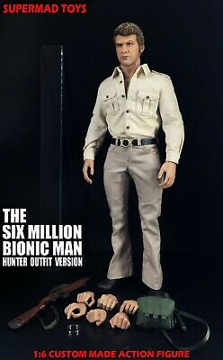 Supermad Toys 1/6 The Six Million Bionic Man Pre Order