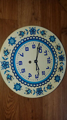 Smiths kitchen wall clock. Very rare, Very pretty, 1950/60s never used amazing