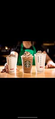 Starbucks Voucher x15 for ANY size, ANY drink, NO expiry day