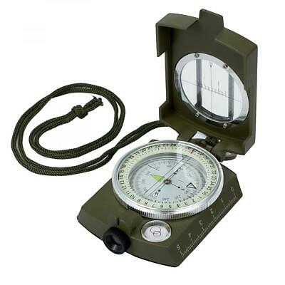 Proster Compass Metal Military Waterproof IP65 with Bag Army green