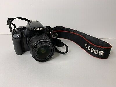 Canon Rebel XSi EOS 450D 12.2MP Digital SLR Camera w/ EF-S 18-55mm II Lens