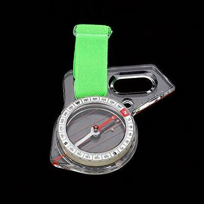 Map Ruler Compass, Lightweight Acrylic Mini Thumb Mapping Compass Tool...