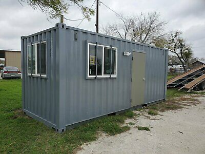 20ft Premium Office (built w/ new container), Price Includes Delivery in Houston