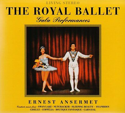 Ernest Ansermet The Royal Ballet Gala Performances