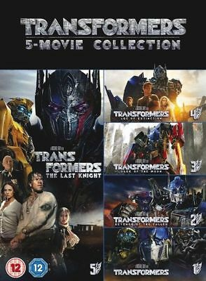 Transformers 1-5 Movie Collection (5 Films) DVD NEW DVD (8313203)