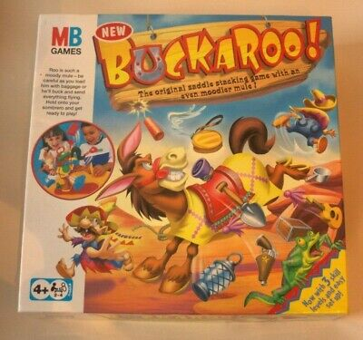 Buckaroo 2003-2011 Board Game by MB games - complete WITH INSTRUCTIONS