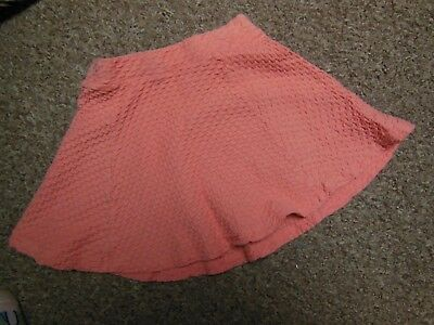 George pink girls skirt aged 5-6 years