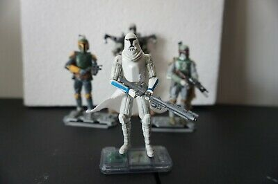 Hasbro Star Wars CLONE TROOPER (With Freeco Speeder)  The Clone Wars  3.75 Toy