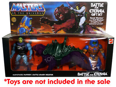 REPRO CUSTOM Masters of the Universe Battle for Eternia v2 Gift Set NO TOYS Motu