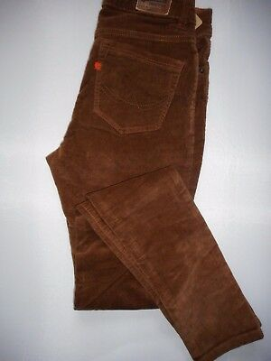 SUPERDY  SKINNY  Boys Trousers Corduroy Size -26/32  New With Tags
