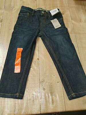 boys BNWT blue straight leg jeans by Denim co age 3-4 yrs