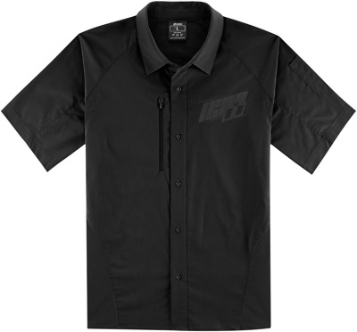Icon Men's Overlord Shop Shirt - Black / All Sizes