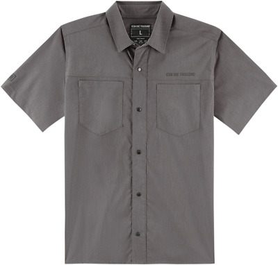Icon 1000 Counter Shop Shirt - Gray / All Sizes