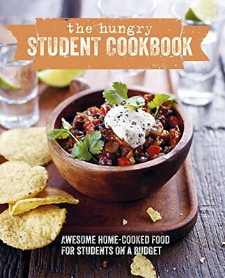 (Very Good)-The Really Hungry Student Cookbook: How to eat well on a budget (Coo