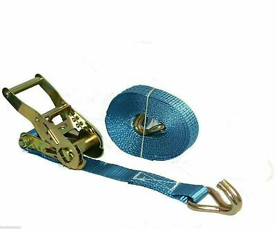Ratchet Cargo Tie down Straps 1 x 5m x 25mm  1.5 tons Claw Lorry Lashing
