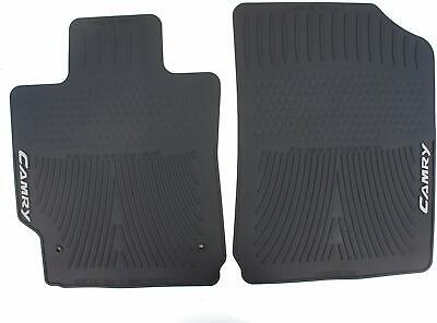 🔥Genuine OEM Black Front Rubber All Weather Floor Mats for Toyota Camry 07-11🔥