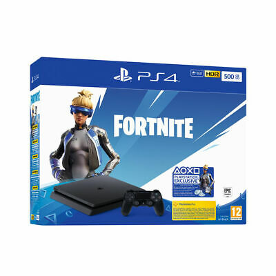 Sony Playstation 4 PS4 500GB HDR + Gioco Voucher Fortnite - ITALIA
