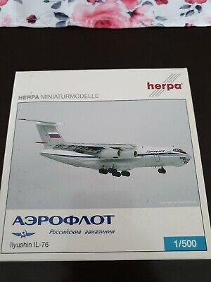 Herpa Wings 1:500 Ilyushin IL-76  Unit State Airlines  532631 Modellairport500
