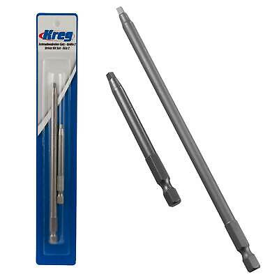 Kreg Square Driver Combo DDS for Pocket Hole Jig 76 and 152mm Woodworking Tools