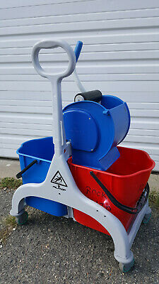 Filmop USA Fred Double Bucket Mop System - For folding flat mop system.