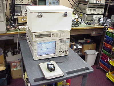 Agilent 8960 10 E5515C Radio Communication Tester with power supply-sheild box